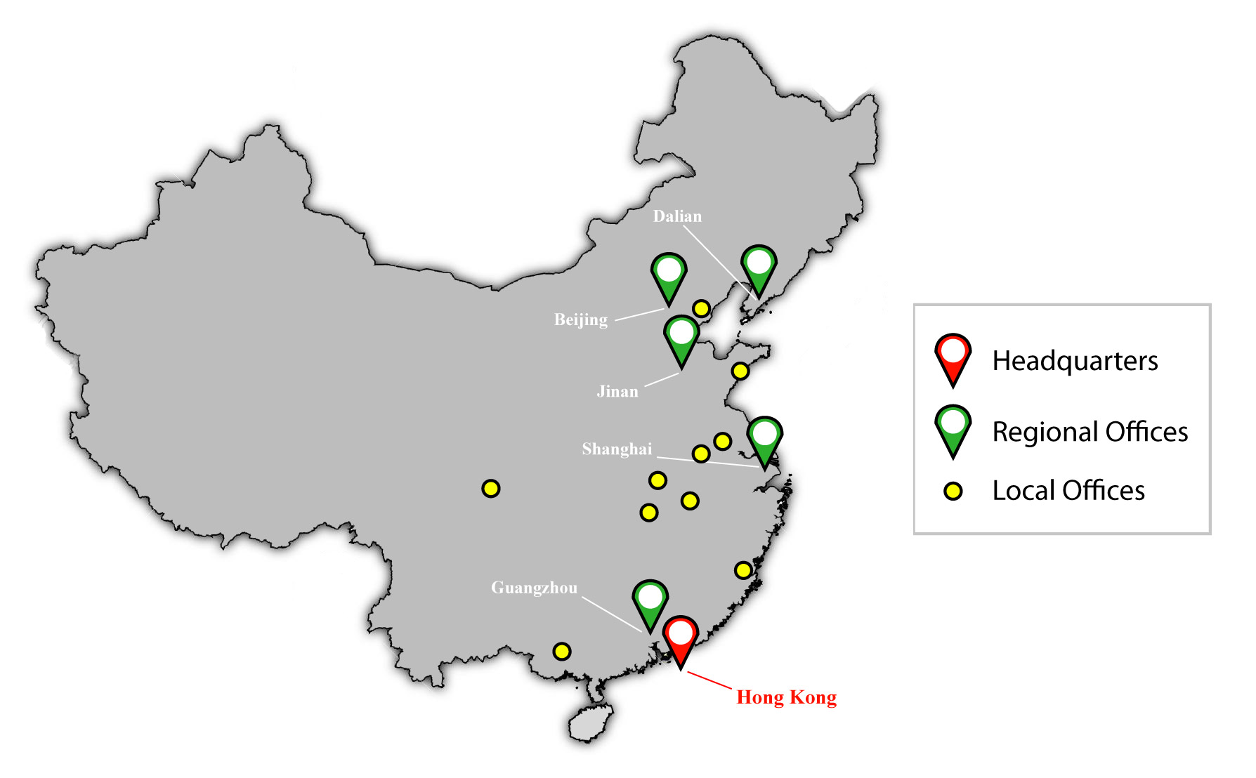 Distribution Map - Distribution - Kojima Medical | China Medical Device Distributor